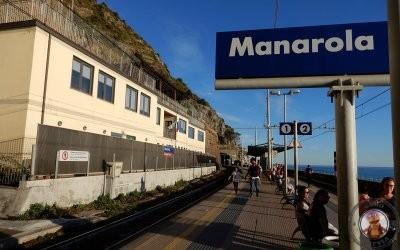 En tren por Cinque Terre