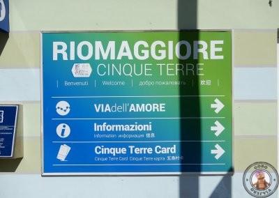 Estación de tren de Riomaggiore