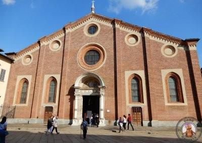 Exterior de Santa María delle Grazie