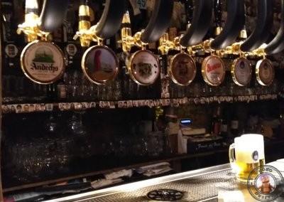 Grifos de cerveza de La Taverna del Metallo