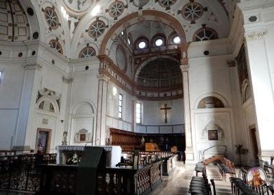 Interior de Santa María delle Grazie