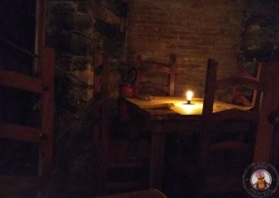 Interior del restaurante La Taverna del Metallo