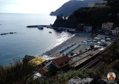 Llegada a Monterosso