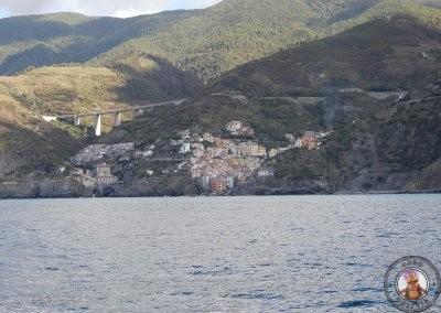 Llegando a Riomaggiore