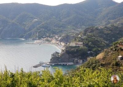 Monterosso al Mare - Vistas desde el comienzo del sendero entre Vernazza y Monterosso