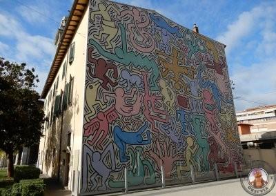 Mural de Keith Haring - Tuttomondo