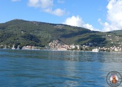 Salida del barco desde La Spezia