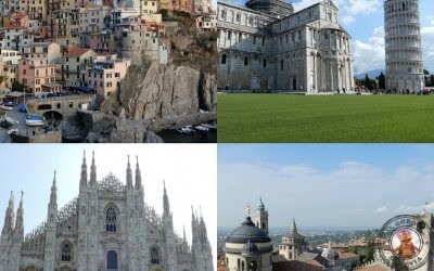 Itinerario y presupuesto Cinque Terre – Pisa – Milán – Bérgamo
