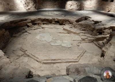Área arqueológica del interior de la Catedral de Milán