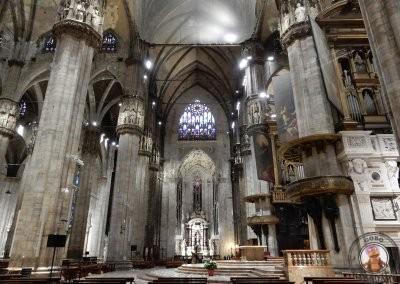 Interior de la Catedral de Milán