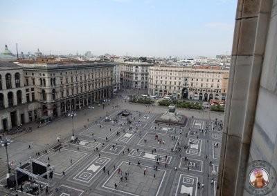 Vistas a la plaza del Duomo