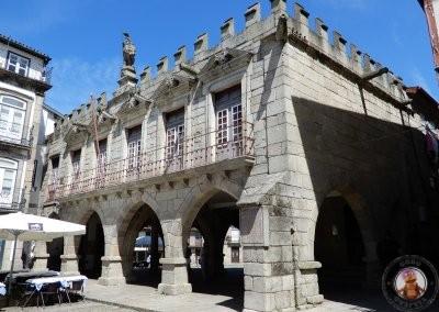 Antiguo Palacio del Consejo en Plaza de Oliveira