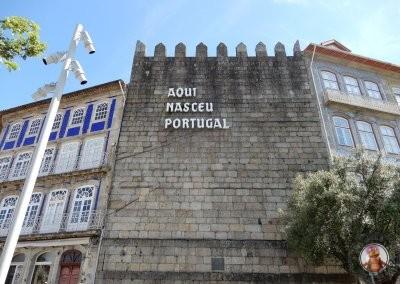 Aqui nació Portugal