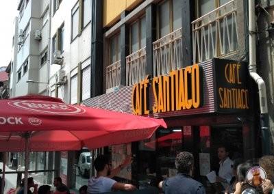 Café Santiago en Oporto