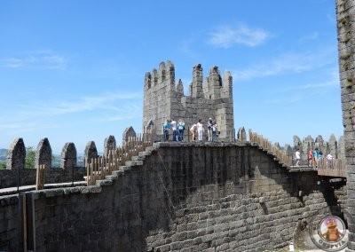 Castillo de Guimaraes - interior