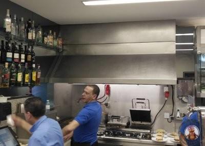 Cocina del Café Santiago