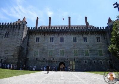 Exterior del Palacio de los Duques de Braganza