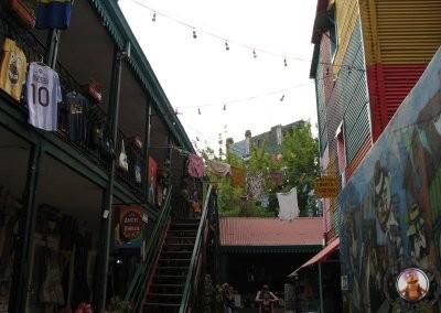Rincones del Barrio de Boca en Buenos Aires