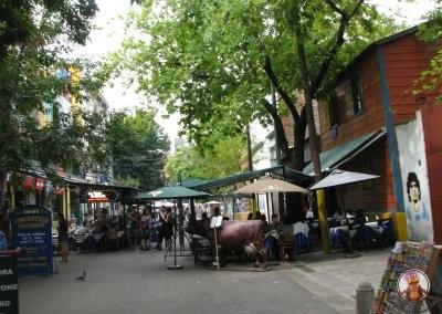 Restaurantes y terrazas en La Boca
