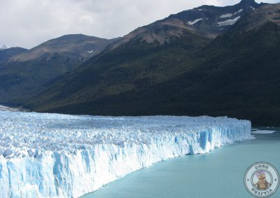 Vistas del Perito Moreno desde las pasarelas