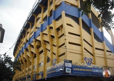 Estadio de fútbol de La Bombonera