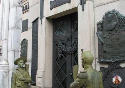 Tumbas del Cementerio Recoleta