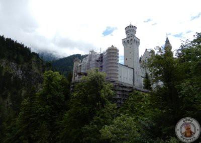 El castillo desde uno de los miradores