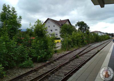 Estación de tren de Füssen