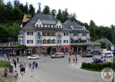Hotel Müller punto de inicio del camino hacia el castillo