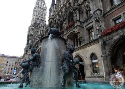 La fuente del pez (Fischbrunnen)