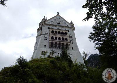 Lateral del castillo
