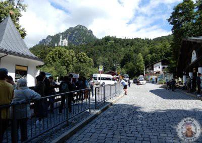 Parada de autobuses en Hohenschwangau