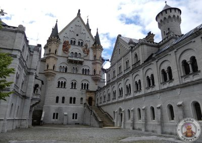 Patio del Castillo Neuschwanstein