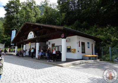 Punto de información y de llegada de autobuses desde Füssen