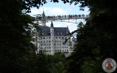 Puente Marienbrücke, mirador del Castillo Neuschwanstein