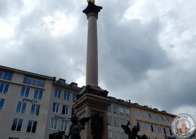 Columna de María - Punto de encuentro del Tour gratis por Munich con Sandemans
