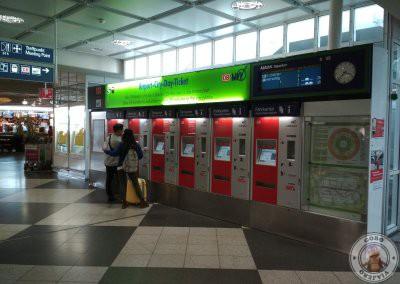 Máquinas automáticas de venta de billetes