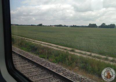 Trayecto de tren desde el aeropuerto al centro de Munich