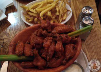 Alitas de pollo en Dublín en Elephant & Castle