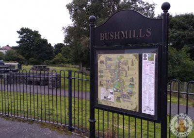 Bushmills en Irlanda del Norte