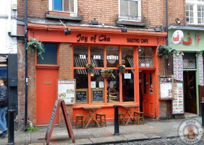 Cafetería Joy of Cha donde hicimos el descanso del Free Tour