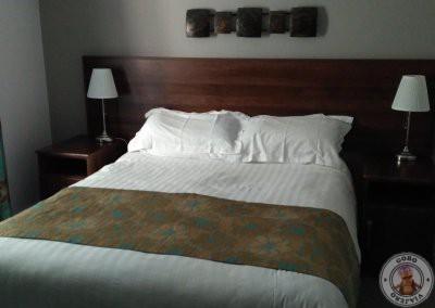 Cama extragrande en habitación Doble en Portcaman House