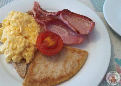 Desayuno en Portcaman House