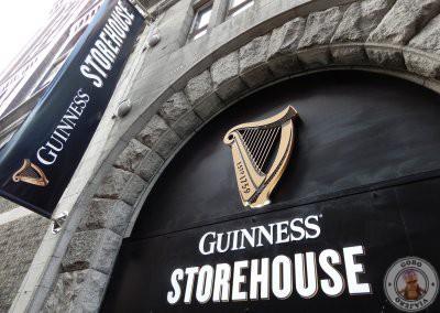 Entrada la Fábrica Guinness Storehouse