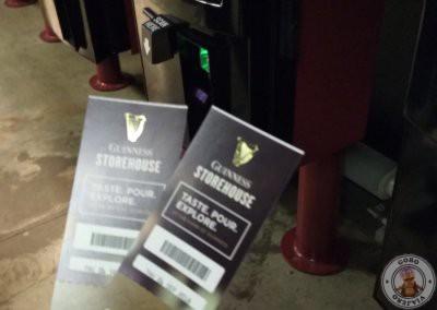 Entradas para la Guinness Store house