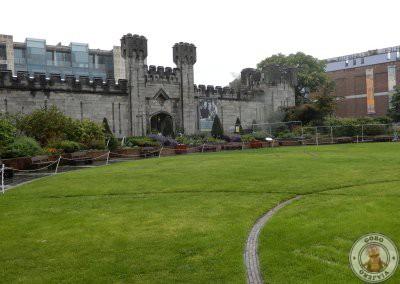 Jardines del Castillo de Dublín