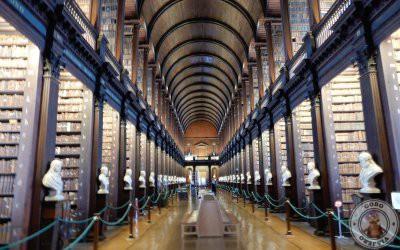 Visita al Trinity College de Dublín