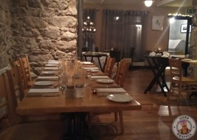 Restaurantes en Bushmills - Tartine Restaurant at The Distillers Arms