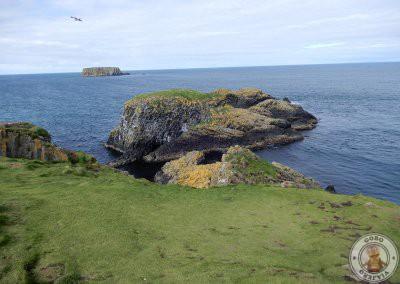 Vistas desde la isla Carrick_