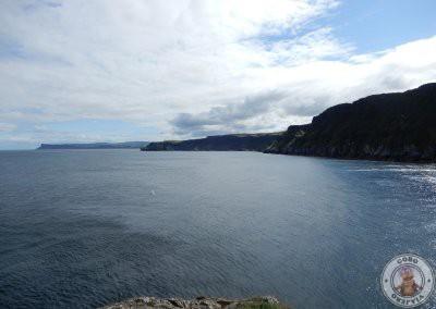 Vistas desde la isla Carrick